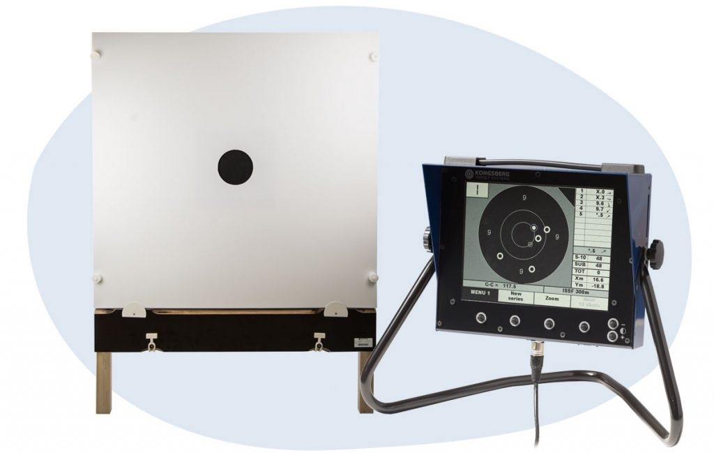 h3a electronic targets with monitors