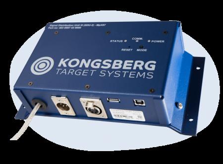 Electronic target server